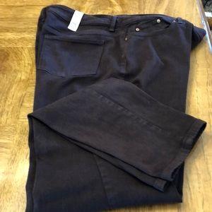 Chico's Dark Brown Pants - Size 2